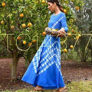GORGEOUS ZARA NWT A-Line Tie Dye Dress